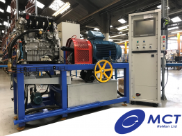 MCT Invests in 3rd Engine End of Line Test Rig